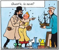 Hergé : Il Segreto del Liocorno © Hergé / Moulinsart/RCS Libri