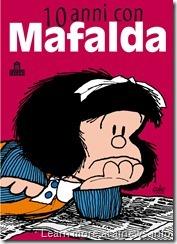 10 anni con Mafalda - piatto