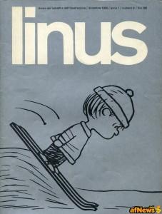 Linus dicembre 1965 copertina Schulz