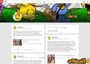 afNewsGoogle+Page