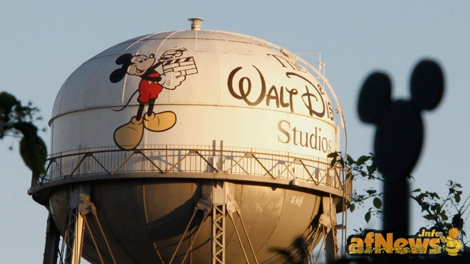 Water-Tower-at-The-Walt-Disney-Co-HQ