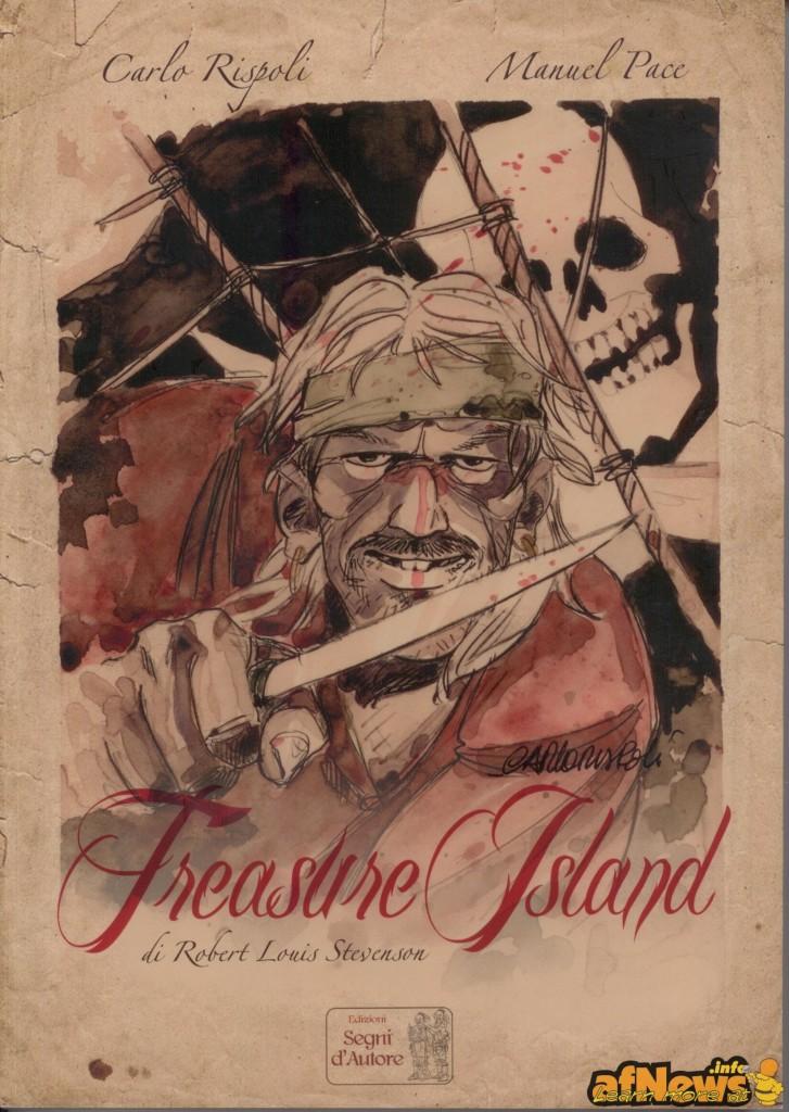 l'isola del tesoro copertina