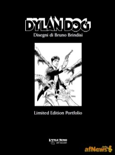 copertina porfolio Dylan Dog Bruno Brindisi