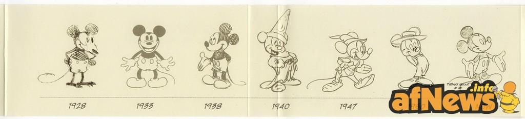 Mickey Mouse Mutante - foto Goria