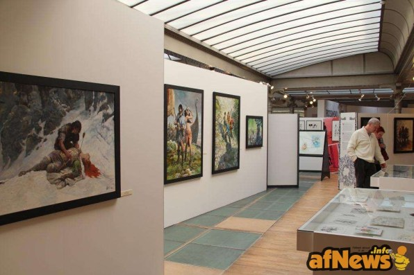 Daniel Fouss Comics Art Museum 2015 3