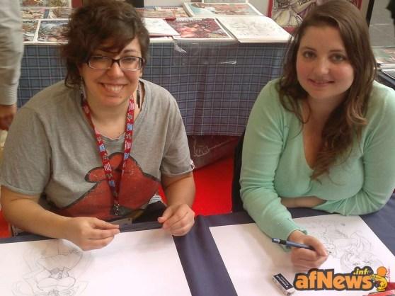 076 Mirka e Elena - Coppia d'assi in rosa - afnews