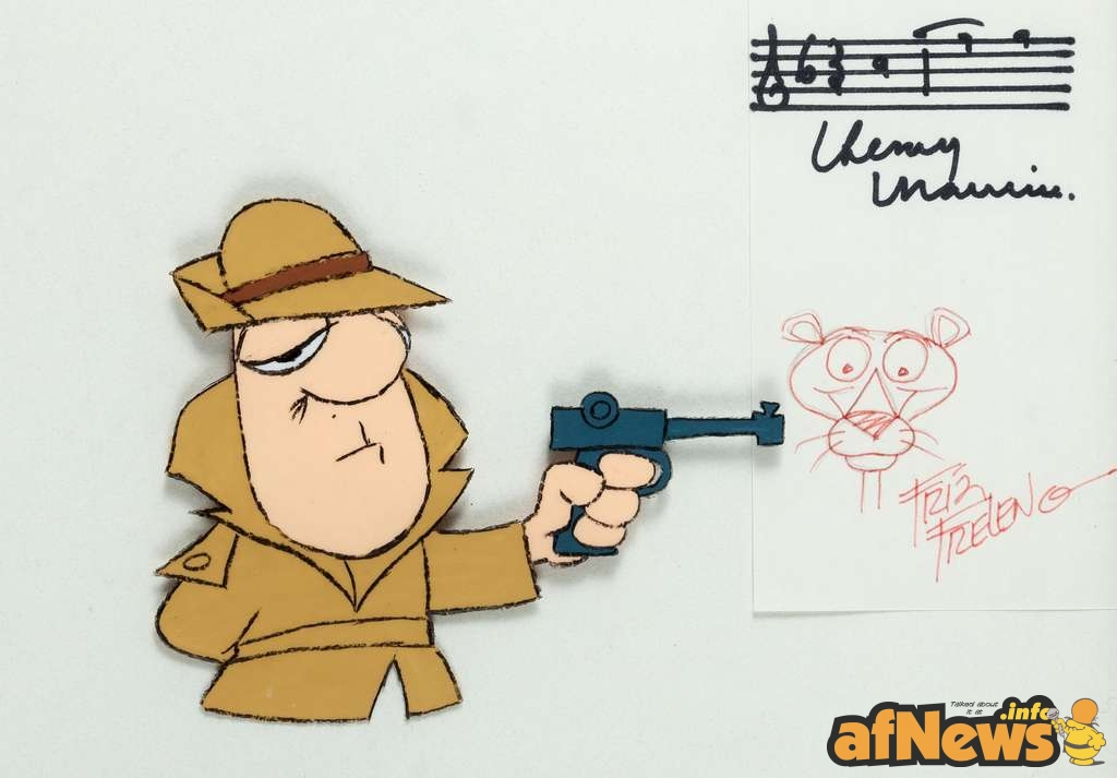 Pink Panther Show Inspector Production Cel