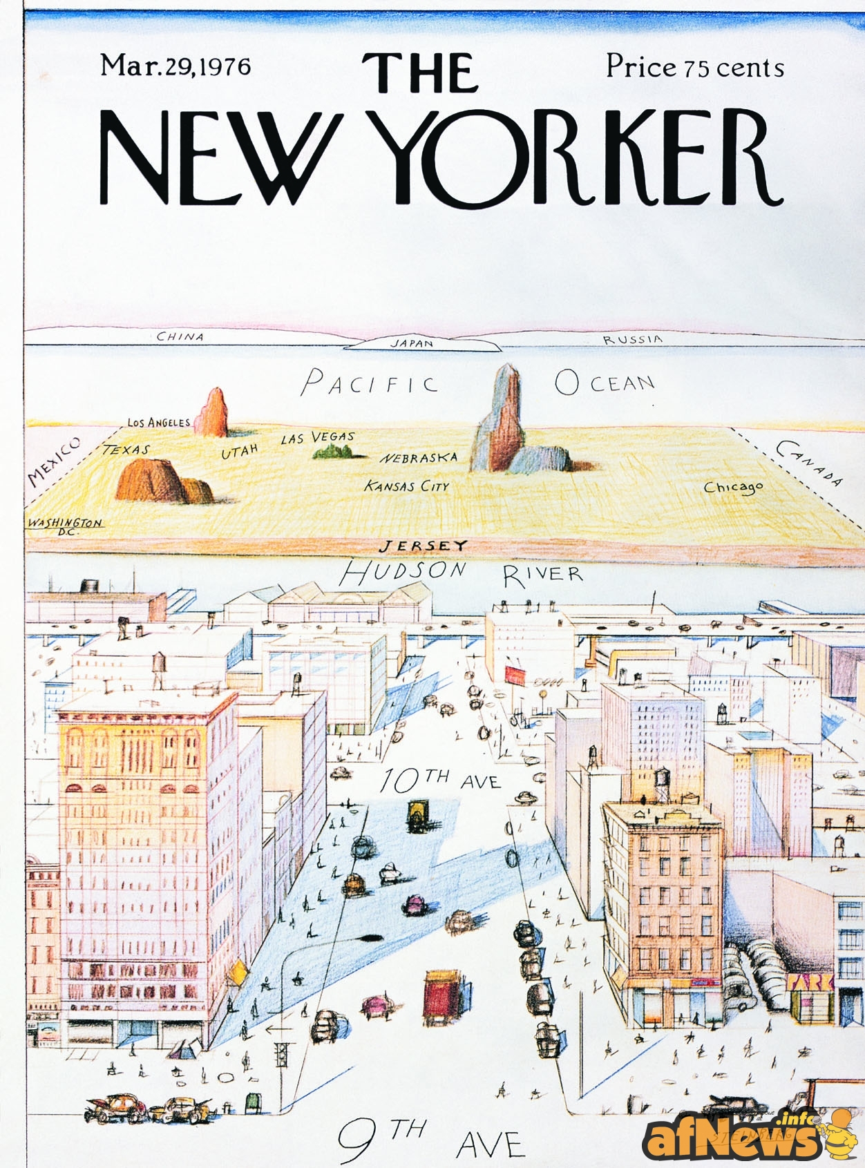 A-View-of-World-from-9th-Avenue-Map