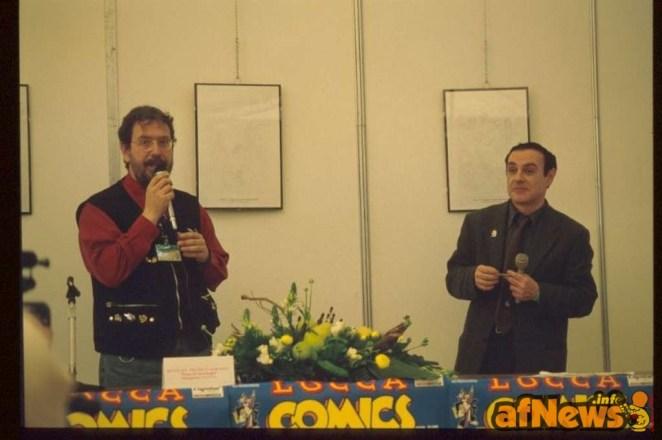 Gianfranco Goria e LUca Boschi