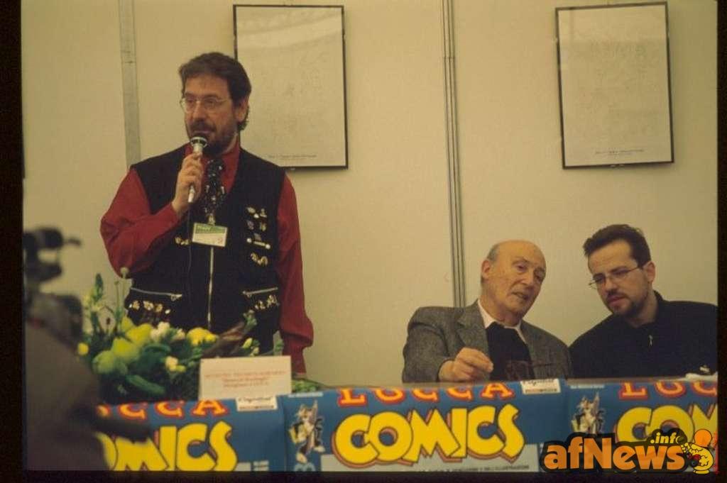 Goria parla mentre Eisner e Fabio Gadducci se la raccontano