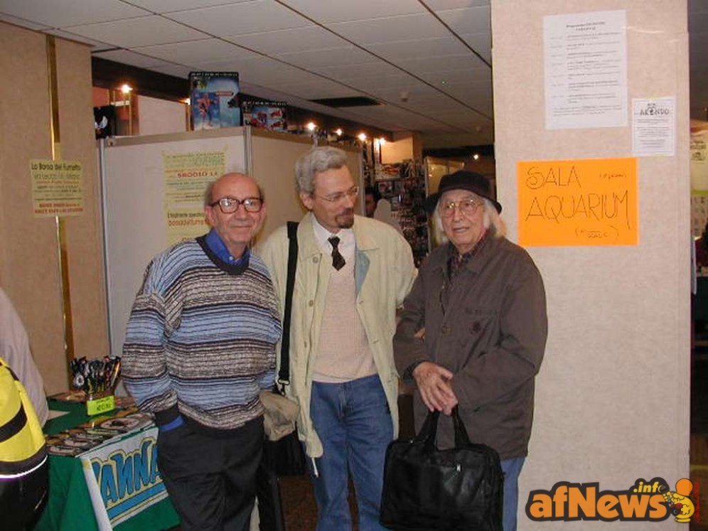 Carlo Peroni, Luigi Bona, Antonio Terenghi - Quark Hotel 2002 - foto Goria