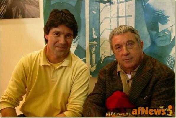 ThierryMornet&SergioBonelli-fotoMelikianXafnews