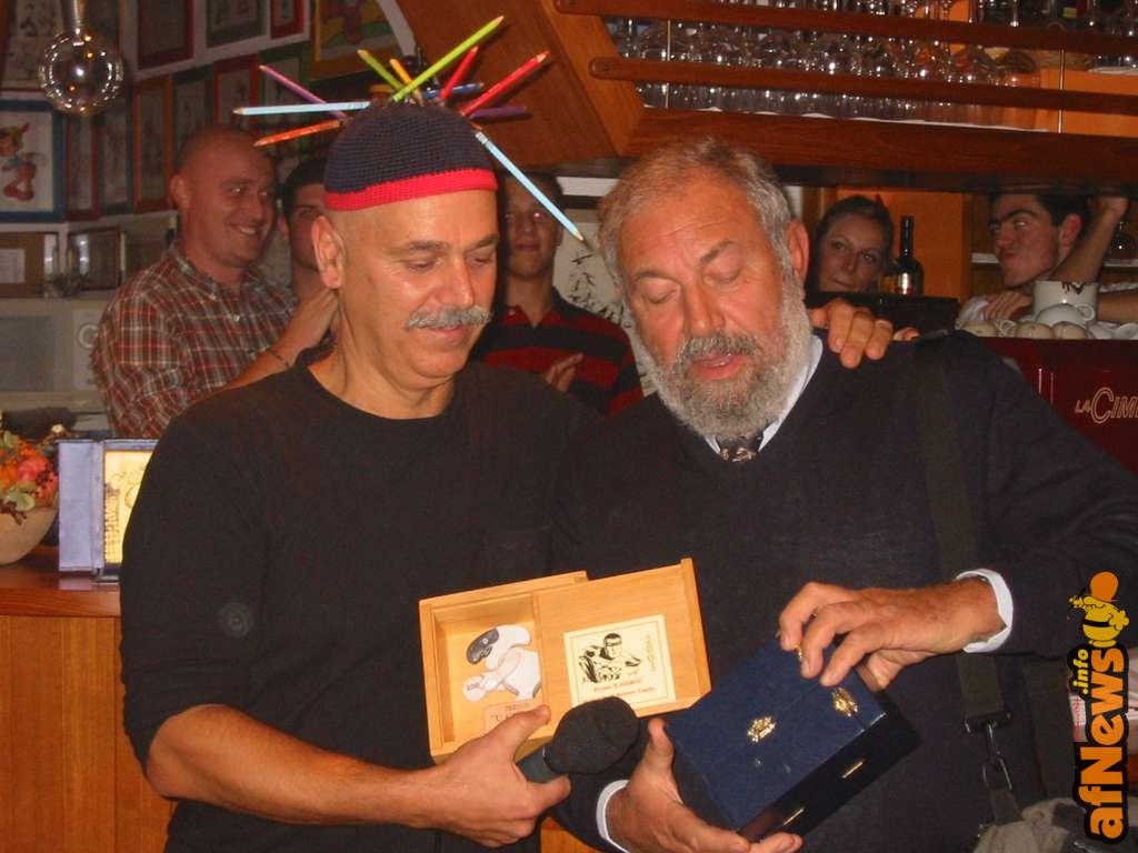 Fausto premia Ro Marcenaro - afnews