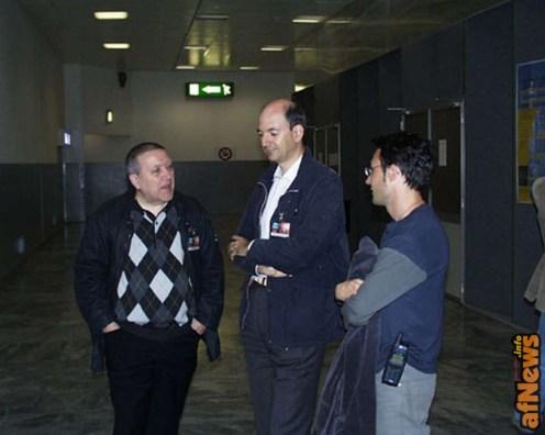 Luciano Gatto, Giorgio Figus e Pierpaolo Rovero