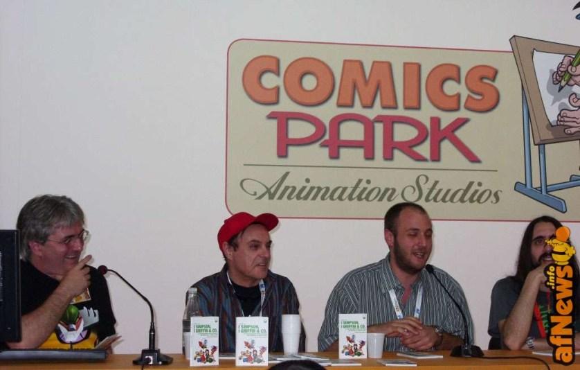 079 Incontro sulle SitCom Animate - modera Moise, presenta Boschi, risponde Caci e commenta Salati - afnews
