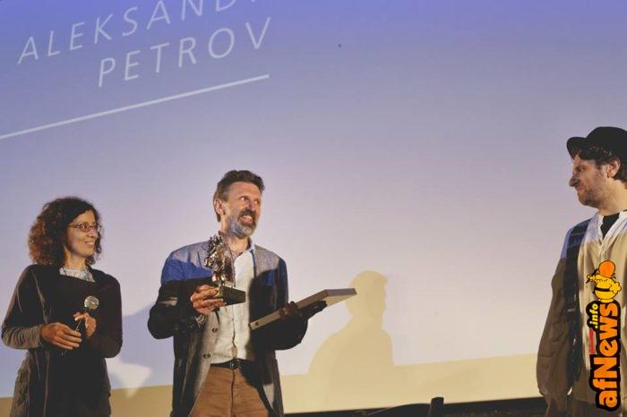 Aleksandr Petrov ad Animavì (Foto di Elena Bompani)