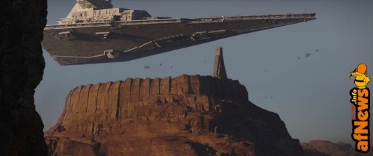 Rogue One: A Star Wars Story..Star Destroyer..Ph: Film Frame ILM/Lucasfilm.© 2016 Lucasfilm Ltd. All Rights Reserved.