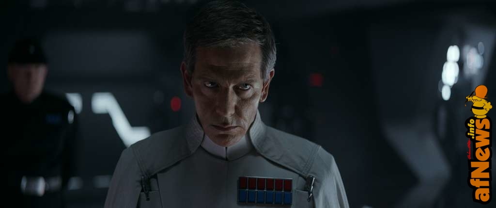 Rogue One: A Star Wars Story..Director Krennic (Ben Mendelsohn)..Ph: Film Frame ILM/Lucasfilm..© 2016 Lucasfilm Ltd. All Rights Reserved.