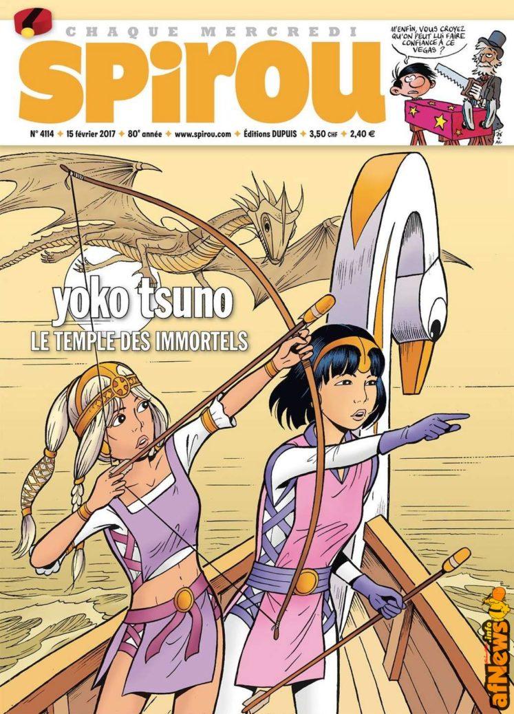 Spirou Yoko Tsuno 4114-afnews
