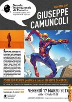 Incontro Camuncoli_ScuolaComics-afnews