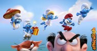 The alll-new, fully CG animated feature SMURFS: THE LOST VILLAGE by Columbia Pictures and Sony Pictures Animation, coming to theaters worldwide in March 2017.