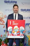 NEW YORK, NY - MARCH 18: Actor Joe Manganiello at the United Nations Headquarters celebrating International Day of Happiness in conjunction with SMURFS: THE LOST VILLAGE on March 18, 2017 in New York City. (Photo by Cindy Ord/Getty Images for Sony Pictures)