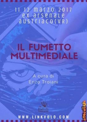 comics il fumetto multimediale - enzo troiani fronte-afnews