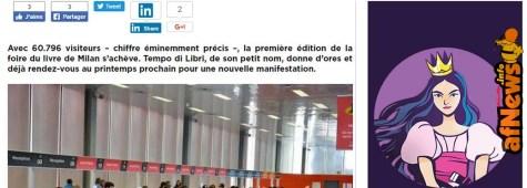 Tempo di Libri, Milano: meno di 80.000 visitatori, anzi meno di 70.000, anzi poco più di 60.000?
