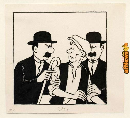Lot458_Herge_DupontetDupond_detectives_illustration_PaulKinet-afnews