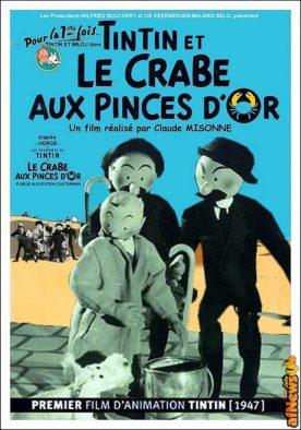 Tintin - Il Granchio d'Oro - primo adattamento-afnews