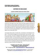 Belgian Comics Art Museum exhibit Asterix in Belgium - PRESS-1-afnews