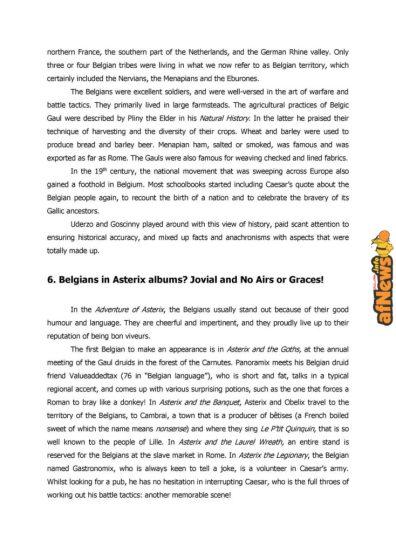 Belgian Comics Art Museum exhibit Asterix in Belgium - PRESS-11-afnews