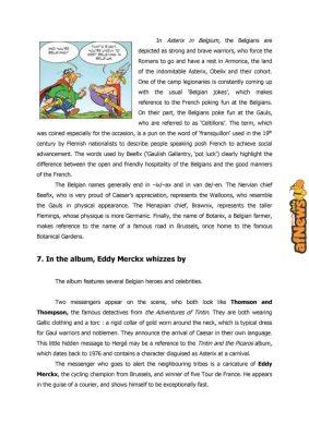 Belgian Comics Art Museum exhibit Asterix in Belgium - PRESS-12-afnews