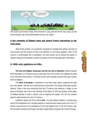 Belgian Comics Art Museum exhibit Asterix in Belgium - PRESS-14-afnews