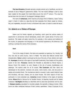 Belgian Comics Art Museum exhibit Asterix in Belgium - PRESS-16-afnews