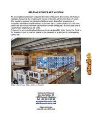 Belgian Comics Art Museum exhibit Asterix in Belgium - PRESS-18-afnews