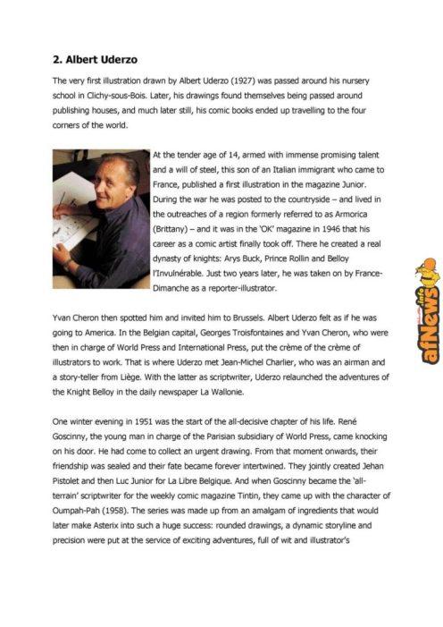 Belgian Comics Art Museum exhibit Asterix in Belgium - PRESS-7-afnews