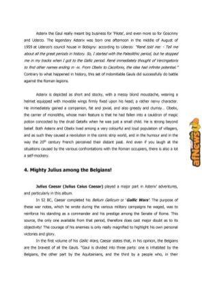 Belgian Comics Art Museum exhibit Asterix in Belgium - PRESS-9-afnews