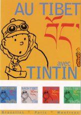 Tintin Tibet mostra cartolina-afnews
