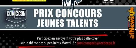 Concorso per Giovani Talenti del Fumetto, prima edizione - Panini Comics e 20 minutes