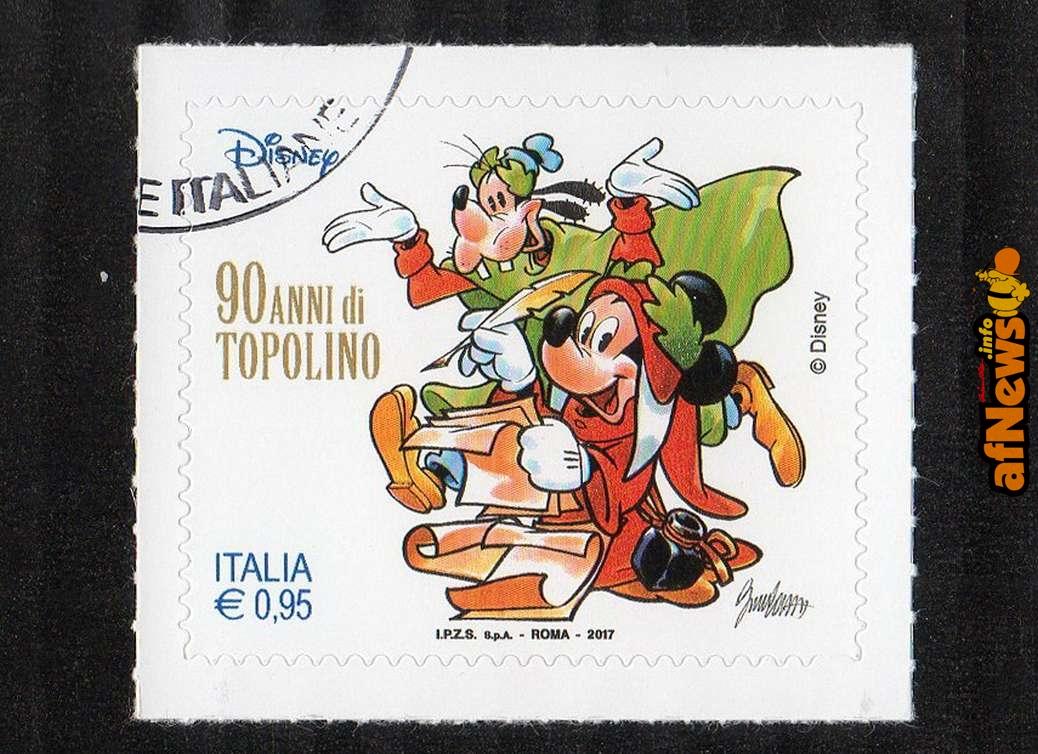 2017-11-09 Topolino francobolli 90 anni 433 r-afnews