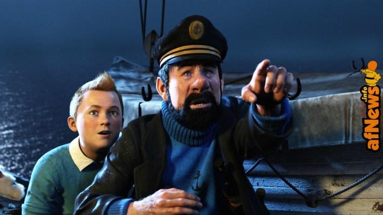 Tintin Haddock Spielberg Jackson-afnews