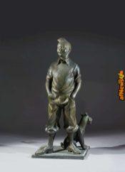 Tintin statua-afnews