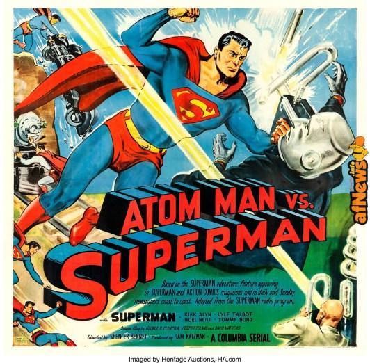 Atom Man vs Superman Columbia 1950-afnews