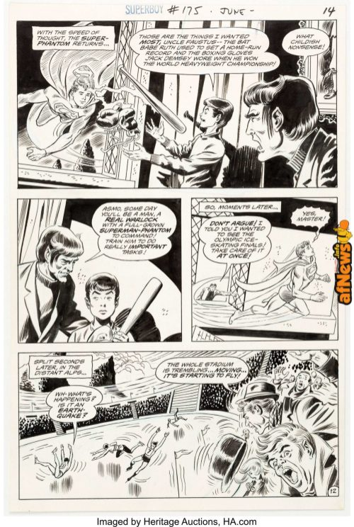 Bob Brown and Murphy Anderson Superboy 175 2-afnews