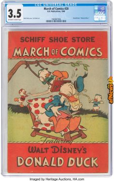 March of Comics 4220 Donald Duck (K. K. Publications, Inc., 1948)-afnews