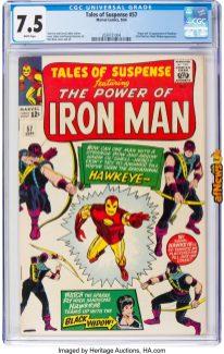 Tales of Suspense 57 Marvel 1964-afnews