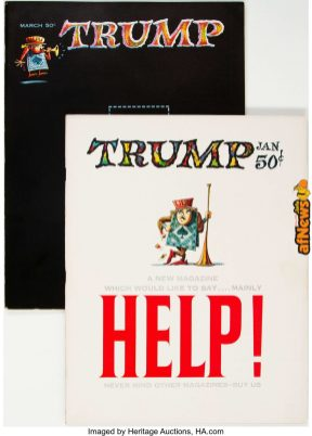 Trump 601 and 2 Group (HMH Publishing, 1957)-afnews