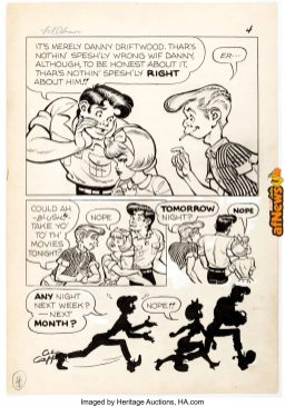 Al Capp and Frank Frazetta Li'l Abner and the Creatures from Drop-Outer Space 1-afnews