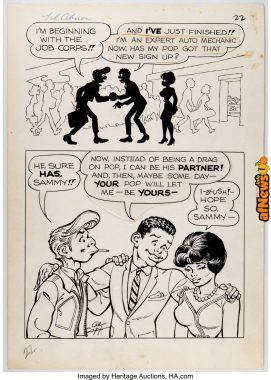 Al Capp and Frank Frazetta Li'l Abner and the Creatures from Drop-Outer Space-afnews